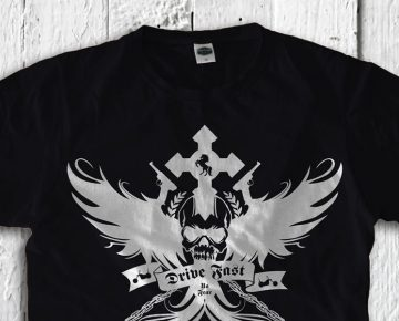 The dark side T-shirt of See you !