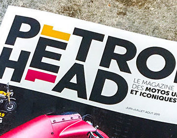 Parution presse : Petrol Head