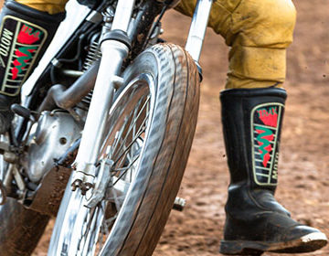 Test Run Flat Track @ Wheels & Stones 2019